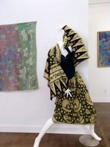 Batik dress & scarf